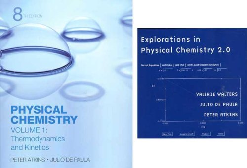 9780716774341: Physical Chemistry Volume 1 & Explorations in Physical Chemistry Access Card