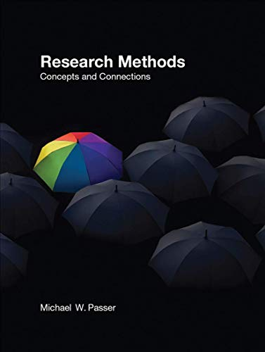 9780716776819: Research Methods: Concepts and Connections