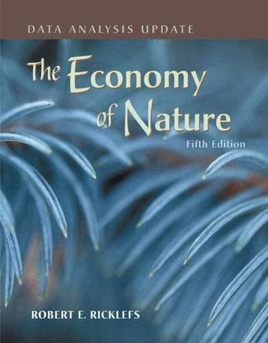 9780716777625: The Economy of Nature: Data Analysis Update