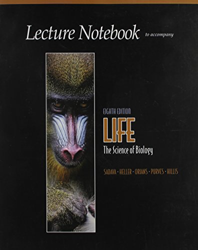 9780716778943: Lecture Notebook to Accompany Life: The Science of Biology