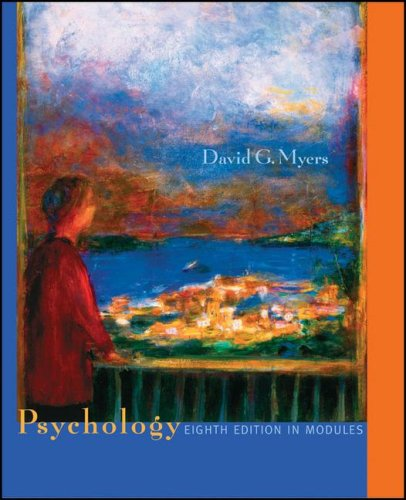 9780716779278: Psychology, Eighth Edition, in Modules