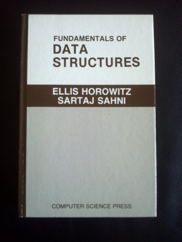 9780716780427: Fundamentals of Data Structures