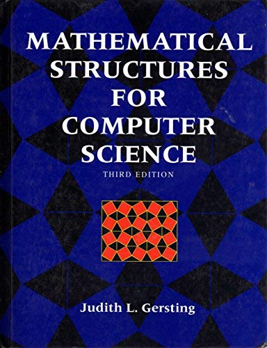 9780716782599: Mathematical Structures for Computer Science (Mathematical Sciences)