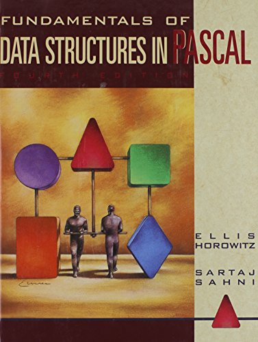 9780716782636: Fundamentals of Data Structures in Pascal