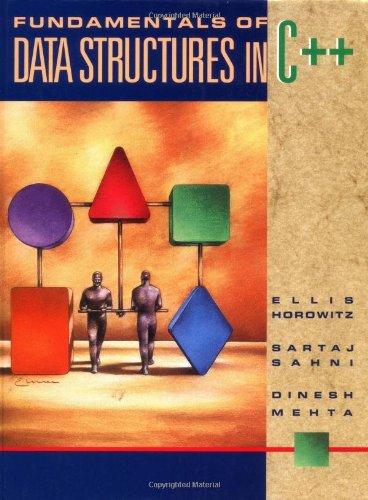 9780716782926: Fundamentals of Data Structure in C++