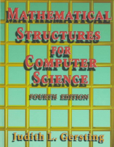 9780716783060: Mathematical Structures for Computer Science