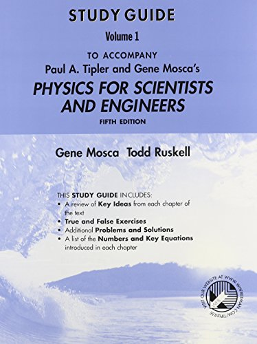 9780716783329: Physics for Scientists and Engineers Study Guide, Volume 1
