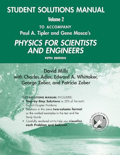 9780716783343: Physics for Scientists and Engineers Student Solutions Manual, Volume 2 (v. 2 & 3)