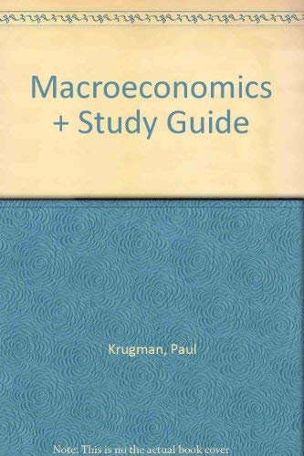 9780716784494: Macroeconomics & Study Guide