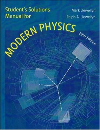 9780716784753: Student Solutions Manual for Modern Physics: Students Manual