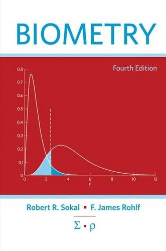9780716786047: Biometry: The Principles and Practices of Statistics in Biological Research