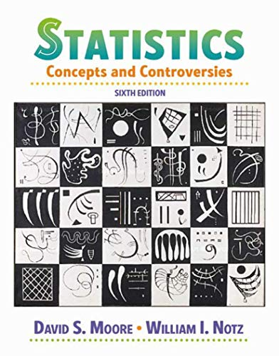 9780716786368: Statistics: Concepts and Controversies