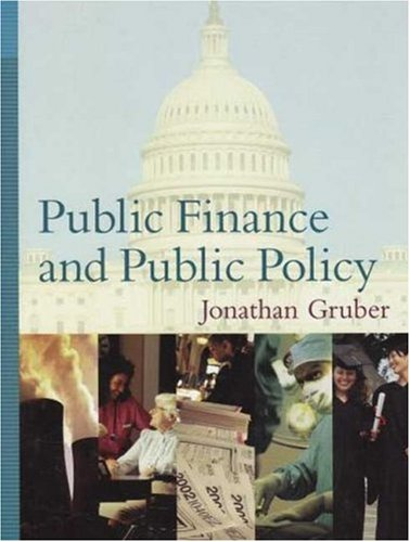 9780716786559: Public Finance and Public Policy