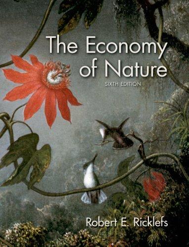 9780716786979: The Economy of Nature