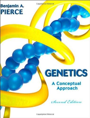 9780716788812: Genetics: A Conceptual Approach (Second Edition)