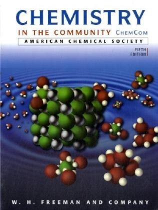 9780716789192: Chemistry in the Community