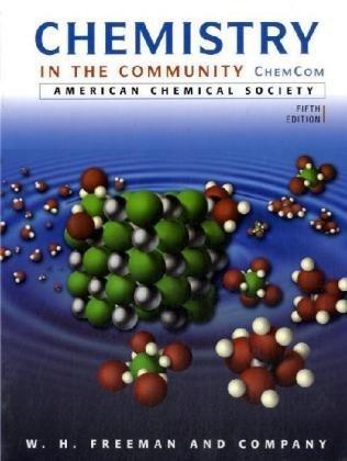 9780716789192: Chemistry in the Community: (ChemCom)