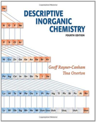 Descriptive Inorganic Chemistry 4th edition: Rayner-Canham