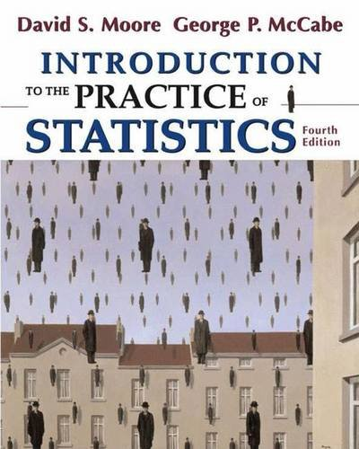 9780716796572: Introduction to the Practice of Statistics, 4th Edition (Book & CD-ROM)