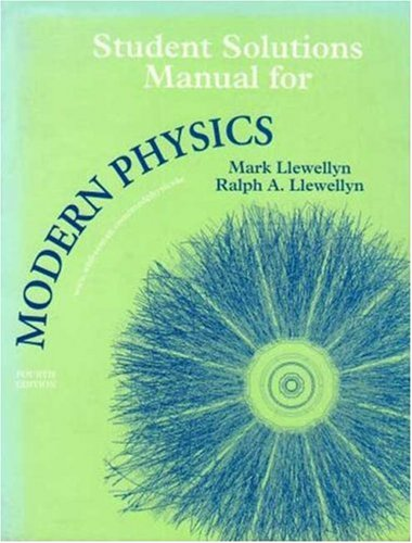 9780716798446: Modern Physics Student Solutions Manual