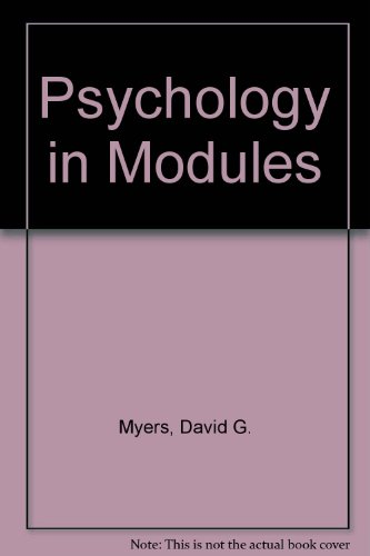 9780716799078: Psychology, Eighth Edition, in Modules (Cloth), PsychInquiry CD-ROM, & PsychSim 5.0