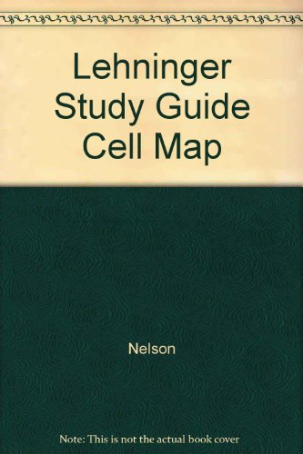 9780716799504: Celluar Metabolic Map: for The Absolute, Utlimate Guide to Lehninger Principles of Biochemistry, 4e