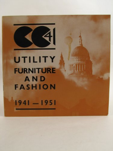 CC41 UTILITY FURNITURE AND FASHION 1941-1951