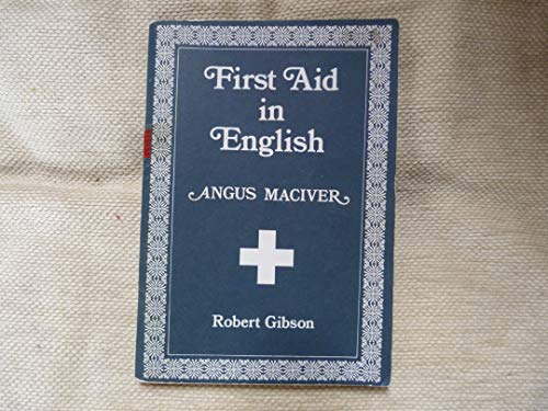 First Aid in English: Maciver, Angus