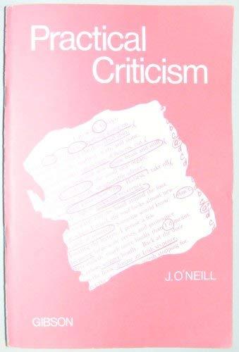 9780716940661: Practical Criticism