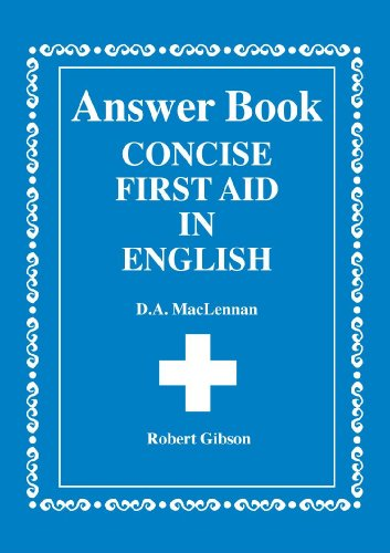 9780716940715: Concise First Aid in English: Ans.Bk
