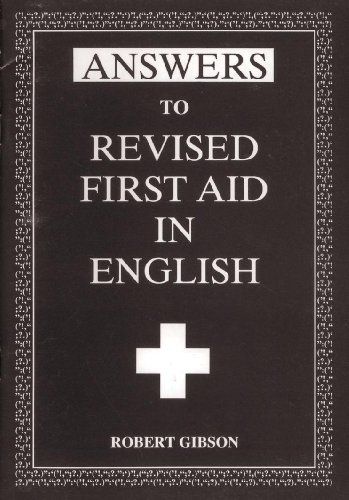 9780716940746: Revised First Aid in English: Ans