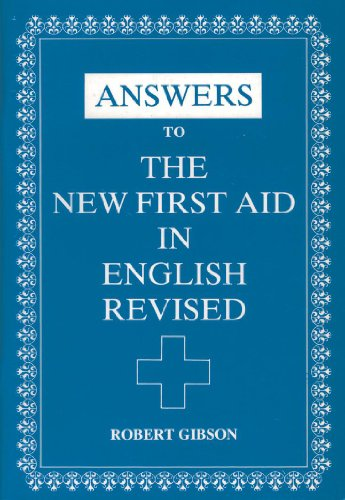 Answers to The New First Aid in: Robert Gibson, Angus