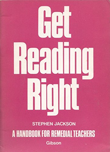 9780716978374: Get Reading Right Handbook (Infant/learning support)