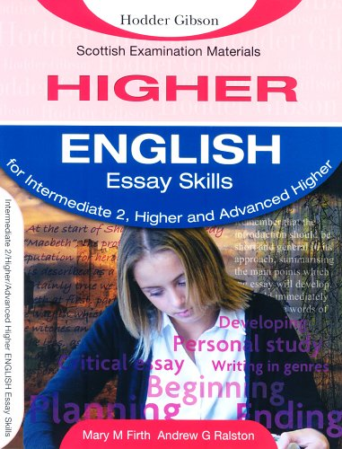 9780716980209: English Essay Skills for Intermediate 2, Higher and Advanced (SEM)