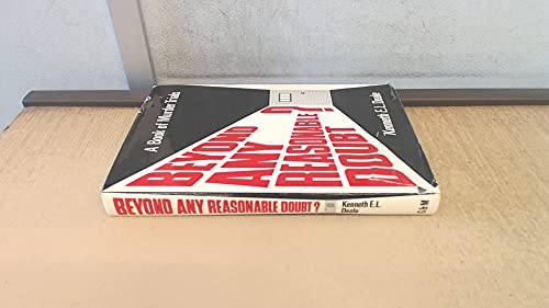 Beyond Any Reasonable Doubt? A Book Of: Deale, Kenneth E.
