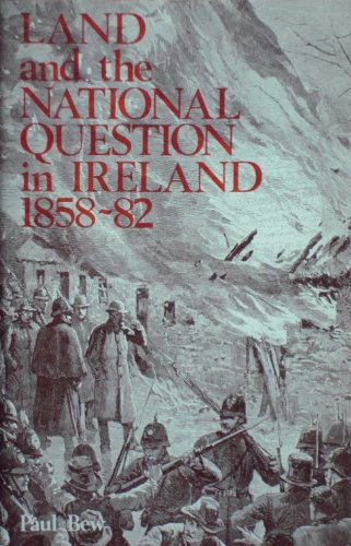 9780717108206: Land and the National Question in Ireland, 1858-82
