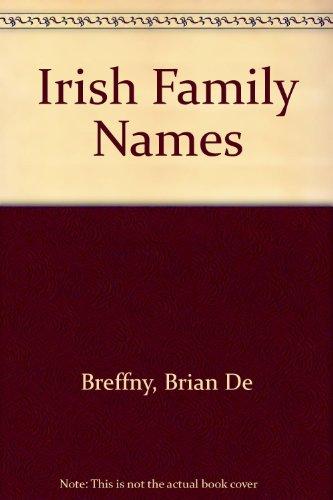 9780717112326: IRISH FAMILY NAMES