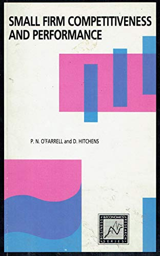 9780717116720: Small Firm Competitiveness and Performance (Business & Economics Research)
