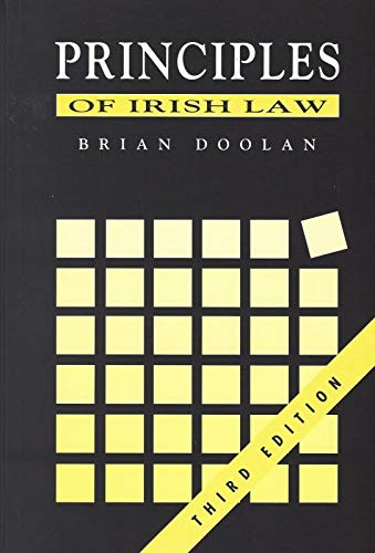 9780717118526: Principles of Irish Law