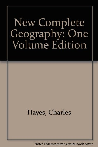 9780717122097: New Complete Geography: One Volume Edition