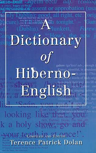 9780717124374: A Dictionary of Hiberno-English