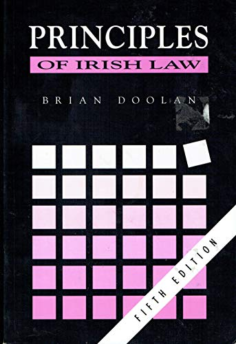 9780717128396: Principles of Irish Law