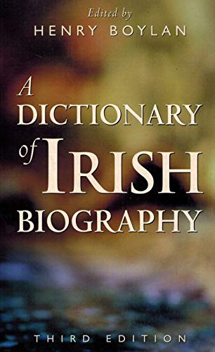 9780717129454: A Dictionary of Irish Biography
