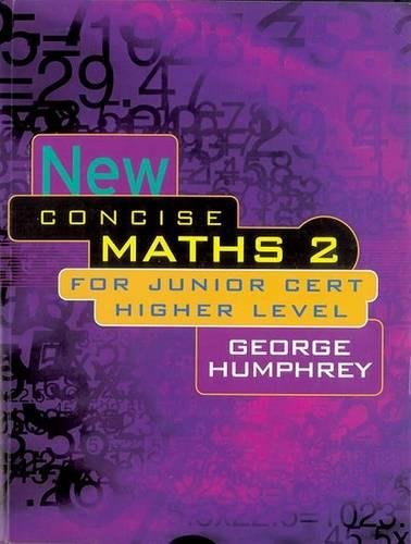 9780717131846: New Concise Maths: For Junior Certificate Higher Level v. 2