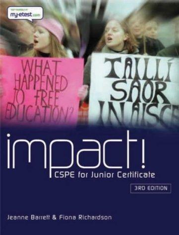 9780717135226: Impact: CSPE for Junior Certificate