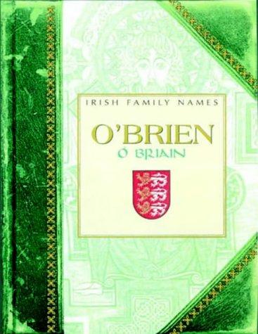 O'Brien (Irish Family Names): Dáithí Ó hÓgáin