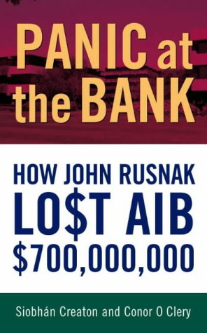 9780717135639: Panic at the Bank: How John Rusnak Lost AIB $700 Million