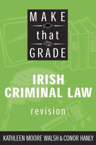 9780717137442: Make That Grade Irish Criminal Law
