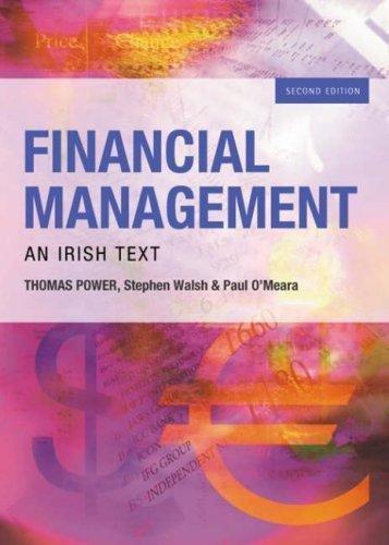 9780717138425: Financial Management: An Irish Text