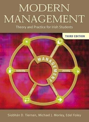 9780717140305: Modern Management